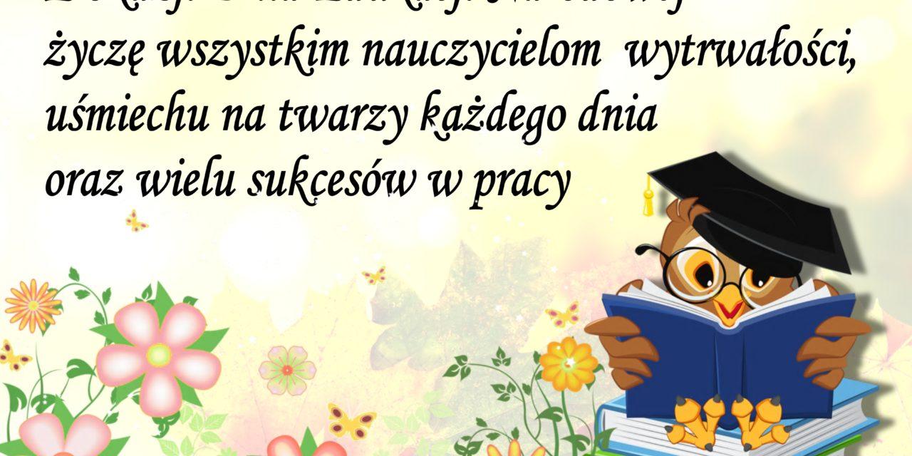 14 października 2014 r Dzień Edukacji Narodowej