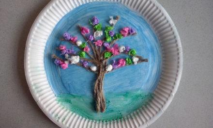 Wiosenne drzewo