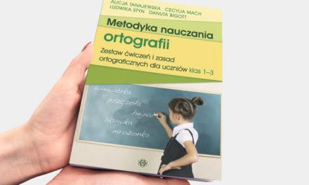 """Metodyka nauczania ortografii"""