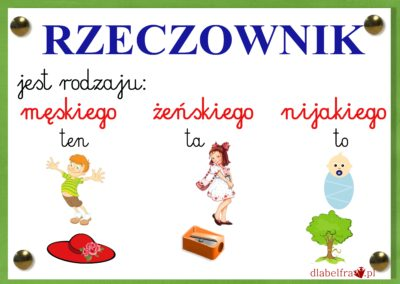 rzeczownik