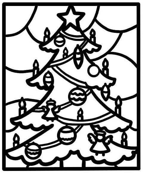Bożonarodzeniowy Witraż Dla Belfra